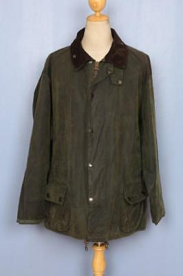 BARBOUR Sporting Beaufort WAXED Jacket Green Size 52