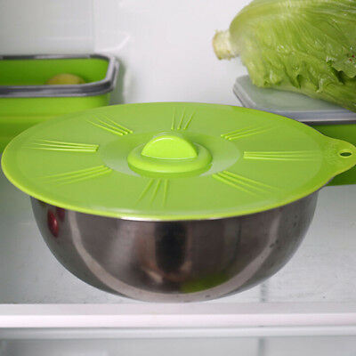 Universal Pan Silicone Cover Stretch Pot Lids Cooking Suction Bowl Lid N7