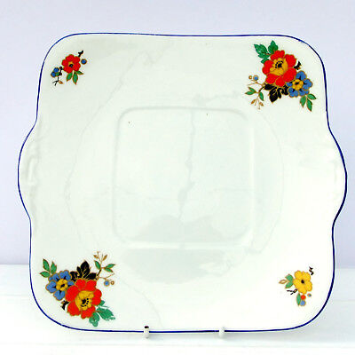 Vintage 1920s 1930s Williamson Heathcote China Cake Plate