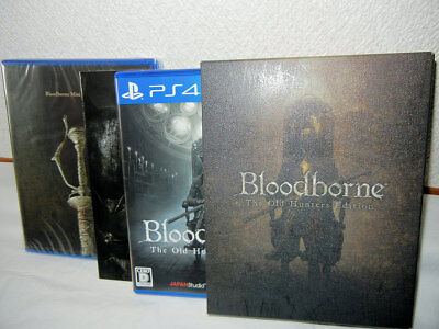 USED PS4 Bloodborne The Old Hunters Edition + Soudtrack Book English sub