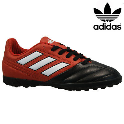 693843edcd7fd0 Adidas Performance Ace 17 Juniors Boys Astro Turf Football Boots Trainers  Size