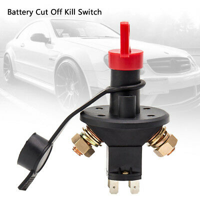 Car Battery Isolator Cut Out Off Kill Switch FIA Type Kit Car Race Rally 100A