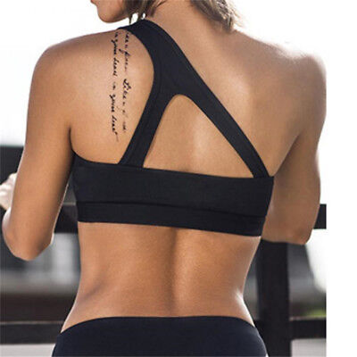 Women Yoga Sport Fitness Bra Jogging Gym Crop Top Tank Vest Workout one