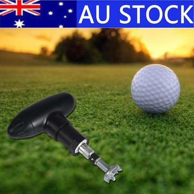 Golf Sports Shoes Wrench Spike Remover Ripper Stainless Steel Tool w/ 3 Adapters