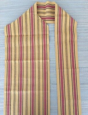 Japanese Nagoya obi, mustard colour, for kimono, imported from Japan (AN2276)
