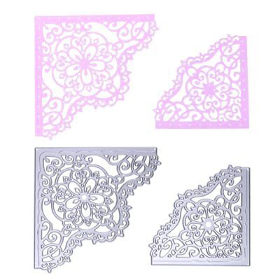 Different Flower Corner Metal Cutting Dies Stencil for DIY Scrapbooking Photo