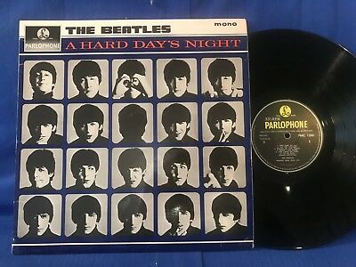 The Beatles Hard Day Pmc 1230 3/3 Matrix Superb Near Mint Condition