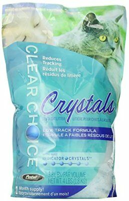 Clear Choice Silica Crystals Cat Litter Bag 4-Pound