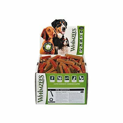 Whimzees WHZ219 30 Count Stix Bulk Doggie Dental Chews X-Large
