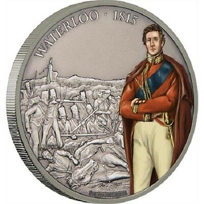 Silver $2 Proof Coins Zulus Niue 1 OZ Warriors of History 2017