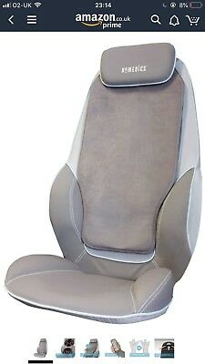 HoMedics SBM-380H-GB Dual Shiatsu Back Massage Chair