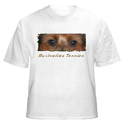 "Australian Terrier    "" The Eyes Have It ""    T shirt"