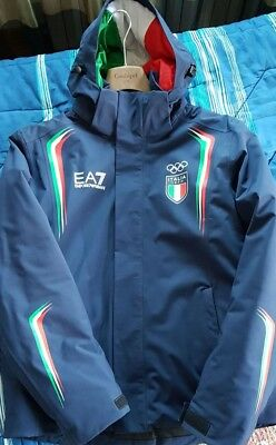 GIACCA edition Olympic uomo EA7 SCI EUR Team 2018 DA Italia Winter 6Arq6w