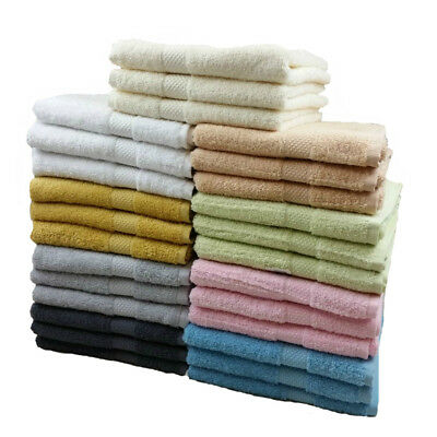 Luxury Quality 100% Cotton Riggs Hand Towels, 50cm x 90cm 9 Colours
