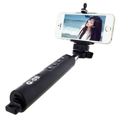 Bluetooth Self Stick Extendable Handheld Monopod Remote Timer Shutter For Phones