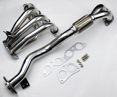 Race Exhaust Manifold Header Downpipe for Toyota Celica 94-99 Corolla 1.8L DOHC