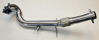 """Mazdaspeed3 Mazda 3 07-13 2.3L 3"""" Stainless Steel Race Turbo Exhaust Downpipe"""