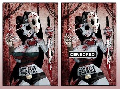 🔥 Dan Mendoza Lbcc Sad Girl Psycho Baby #1 Metal Trading Card Set Ltd 100 🔥