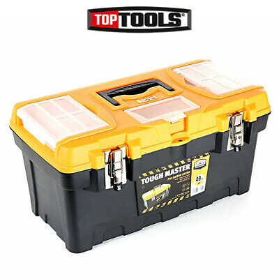 Tool Box Tough Master 19 inch / 49cm With Tray & Compartment Organiser