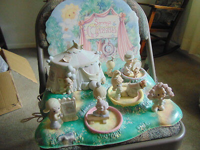 Enesco Precious Moments 1993 Sammy's Circus W/retail Displayer