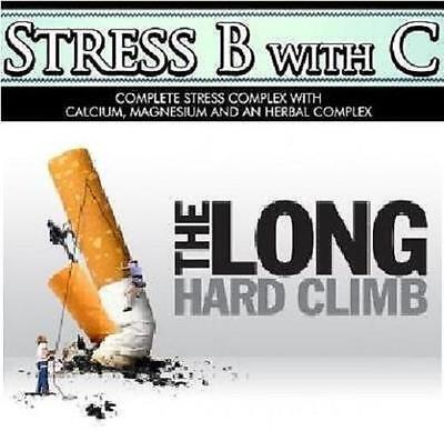 Stress B Complex Stop Smoking Aid Nicotine Patches Gum Replacement Therapy NRT