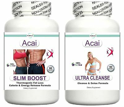 T5 Acai Fat Burner Colon Cleanse Weight Loss Slimming Aid Diet Pills Tablets (2)