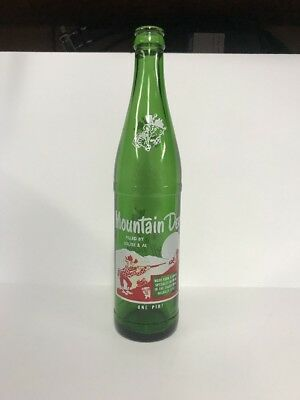 1965 Vtg Mountain Dew Bottle Pint 16 Oz One Pintlouise & Al Hillbilly Willy Pig