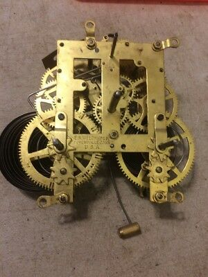 Welch  Mantle Clock Movement
