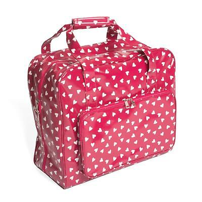 Sewing Machine Bag (PVC) - Raspberry Heart - Hobbygift - MR4660189