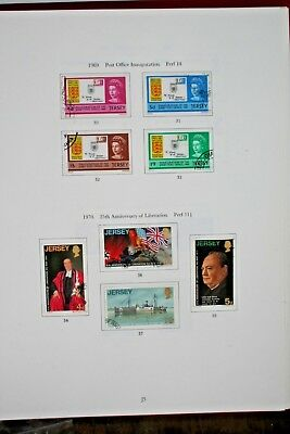 Breaking Fine Collection of Different Used Jersey Stamps 1941-1991