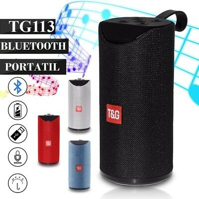 Altavoz Portatil Con Bluetooth Altavoces Inalambrico De Usb Micro Sd Radio Auxi