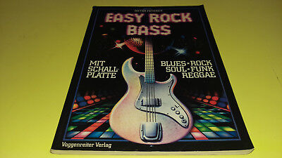 Dieter Petereit - EASY ROCK BASS - Blues,Rock,Soul+Funk, Reggae - Voggenreiter
