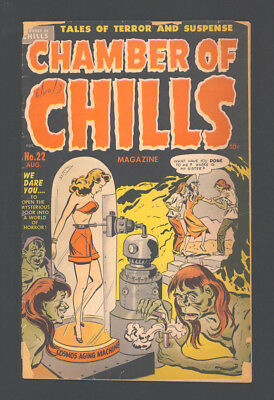 """CHAMBER OF CHILLS 22 (#2) """"1951"""". Features 4 Tales of Terror and Suspense."""