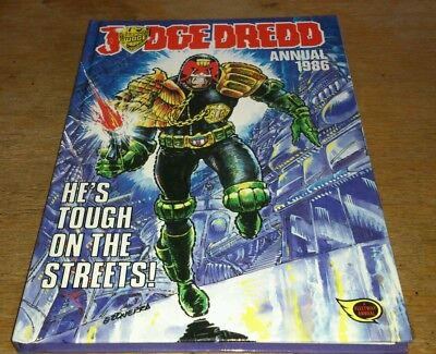Judge Dredd Annual 1986