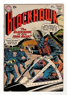 DC Comics Blackhawk #153 Silver Age Stained Cover