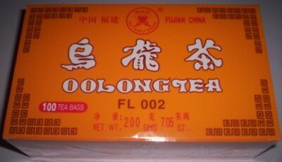 500 Chinese Oolong Tea bags, EXPRESS POSTAGE, Fujian, China, export quality