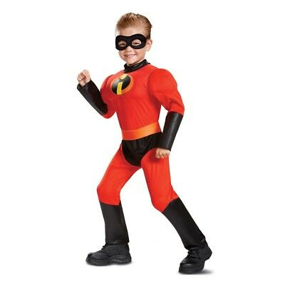 The Incredibles Dash Muscle Toddler Costume, 66869, Disguise