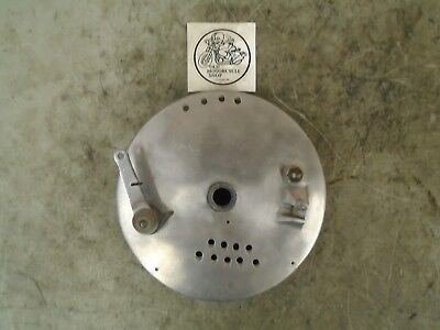 1961-1965 Triumph 8'' S.l.s. (Single Leading Shoe) Front Brake Plate (Drilled)