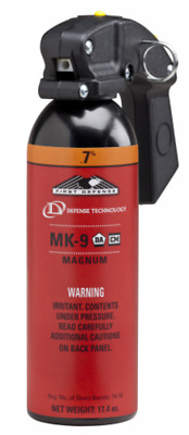 Defense Technology 56795 First Defense MK-9 Stream .7% Orange 12 oz Pepper Spray