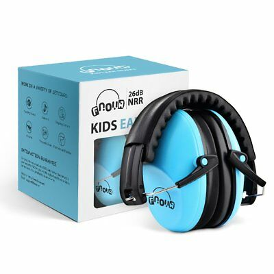 Sky Blue Children Ear Hearing Protectors 26dB Kids Ear Muffs Safety Comfortable
