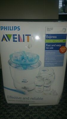 Philips Avent Electric  Steam sterilizer not Includes Bottle and Brush