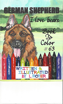 BRUSSELS GRIFFON /& FRIENDS COLORING BOOK BY L ROYER  AUTOGRAPHED #45 BRAND NEW