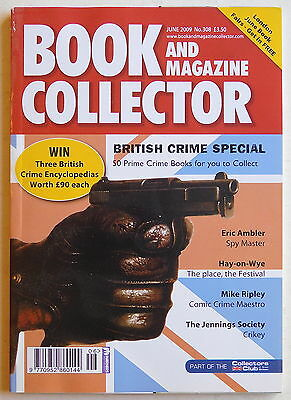 BOOK & MAGAZINE COLLECTOR #308 - 6/2009 - British Crime, Eric Ambler