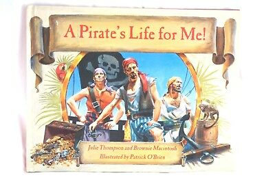 A Pirates Life For Me! Book Julie Thompson Brownie Macintosh Vintage Book 1996