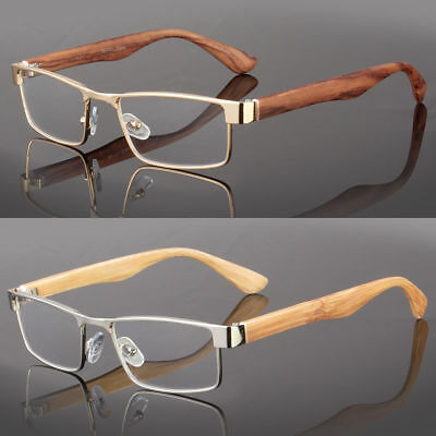 New Clear Lens Square Frame Eye Glasses Designer Womens Mens Fashion Retro RX