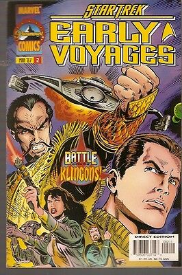 + STAR TREK EARLY VOYAGES Comic Marvel USA 2 selten