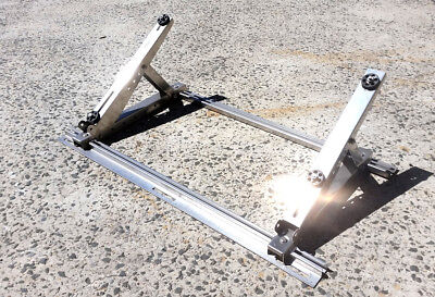 Aircon Stainless Steel Roof Bracket 3Pc Supports 200Kg 500Mm - Hc-P050C
