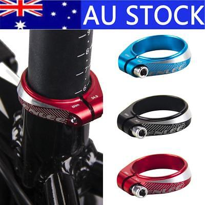 For 30.9 /31.6mm Bike Aluminum Alloy Bike Bicycle Cycling Saddle Seat Post Clamp
