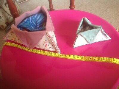 2 Delightful Hand Made Pouches