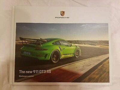 Porsche 911 GT3 RS Hardcover Brochure